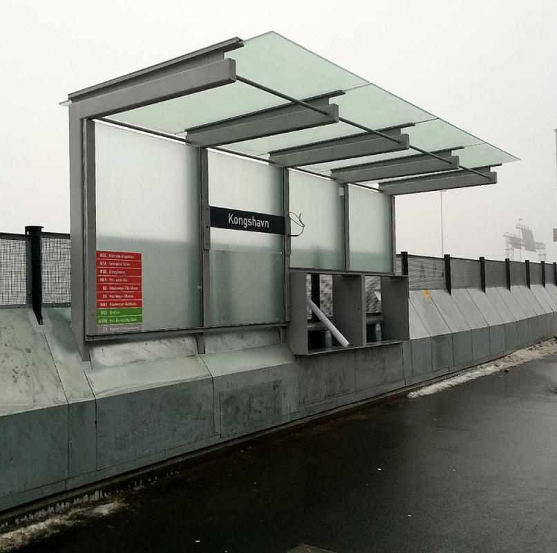 Lehus buss i Sydhavna Oslo