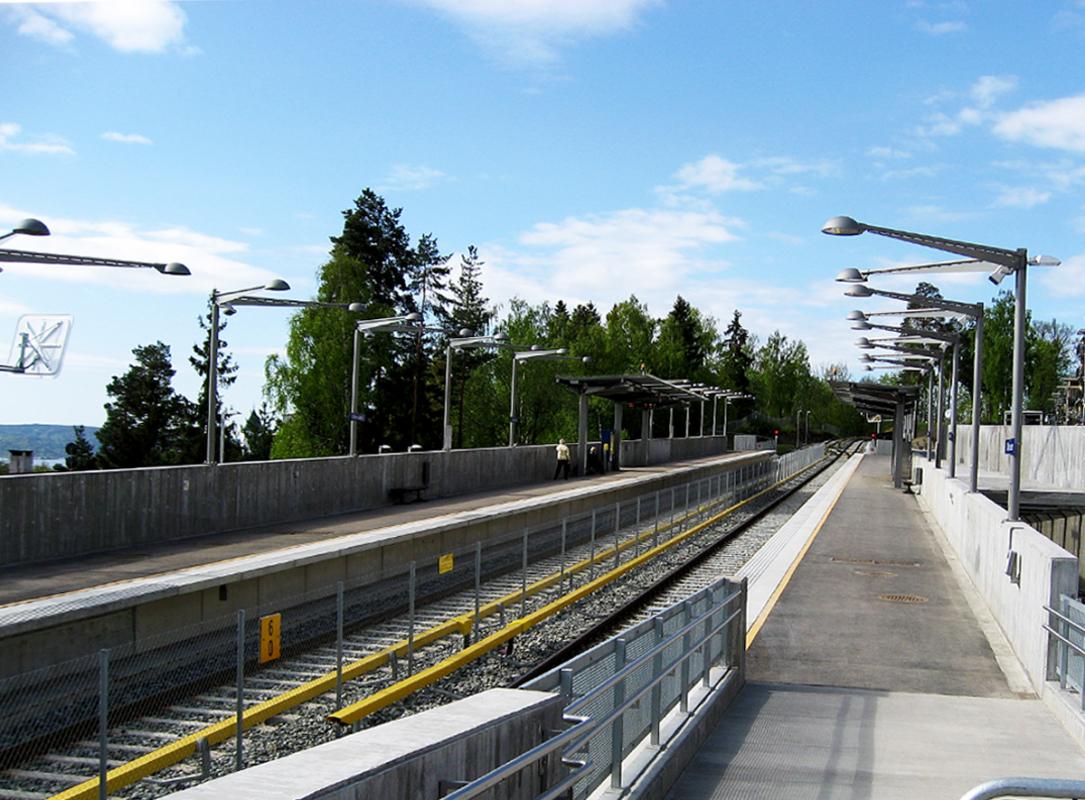 Lehus Oslo T-bane oversikt